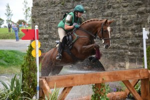 Joanne Jarden and MJI Belle Bonita - Winners of the CNC* class at the inaugural Eventing Ireland fixture at Drishane Castle, September 2014